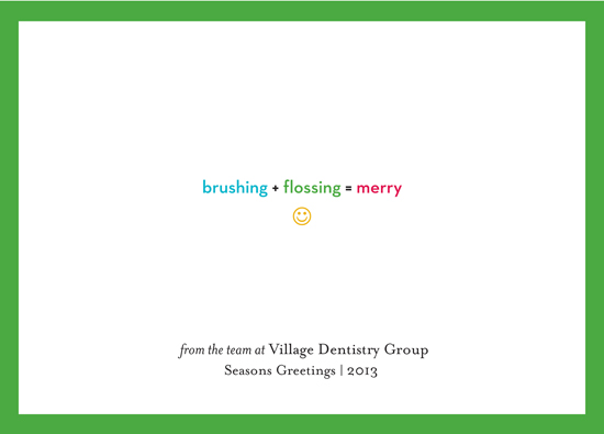 business holiday cards - Dental Practice Equation by Robin L. Andrews