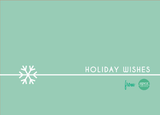 business holiday cards - Snowflake Wishes by Marie Day