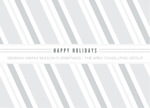 business holiday cards - All Wrapped Up by Marie Day