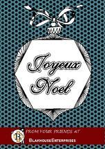 Retro Noel Ornament by Rose R.