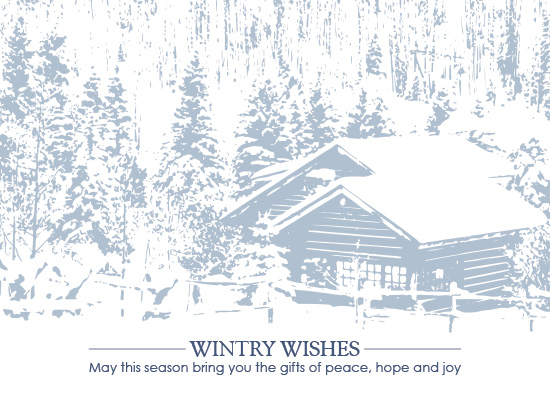 business holiday cards - Holiday Blues by Jennifer Gregory