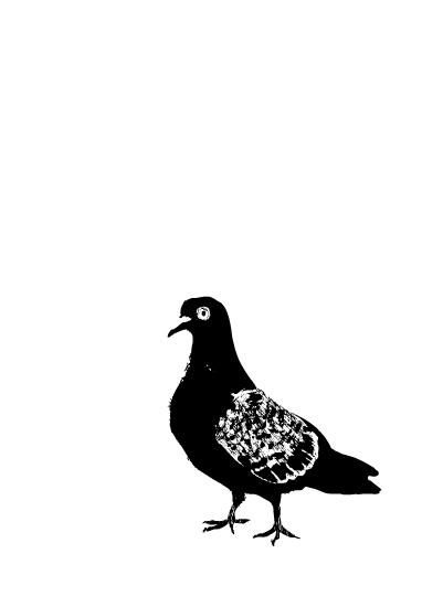 art prints - Hello Pigeon by Kristine Hickcox