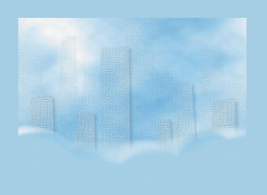 art prints - City in the Sky by Cindy Jost