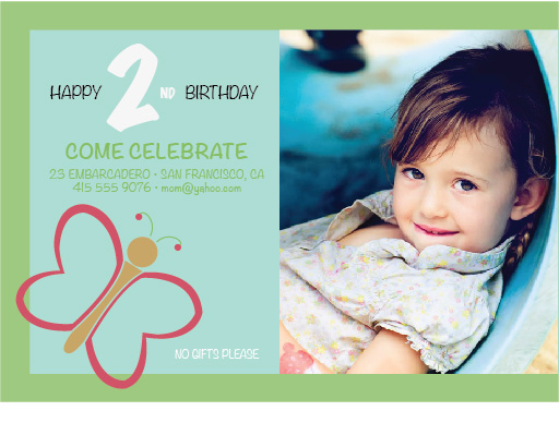 party invitations - Butterfly Gathering by Joel