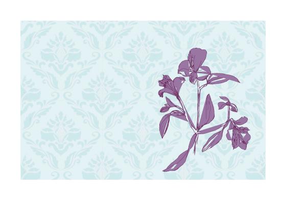 art prints - Vintage Orchid by Danielle Veloza