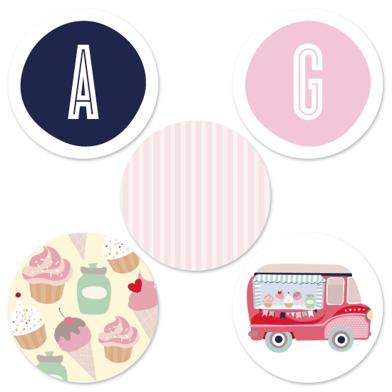party decor - Food truck Party! by Phrosne Ras