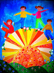 party invitations - Walking on Sunshine by Jean Jackson