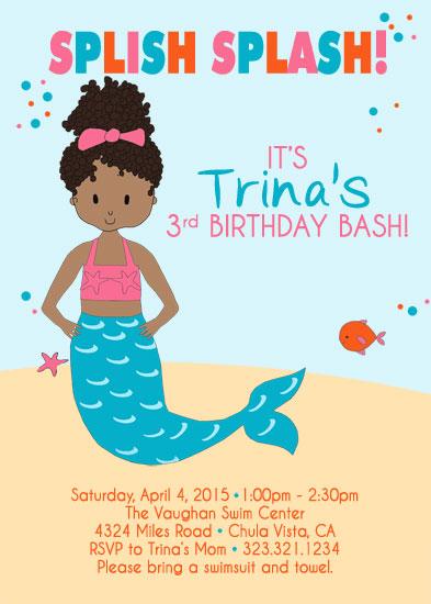 party invitations splish splash birthday bash at minted com