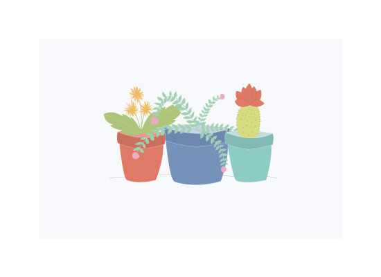 art prints - House Plants by Bright Room Studio