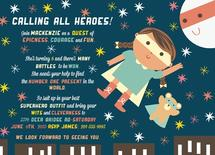 Super Epic Heroes Party by Lala Watkins