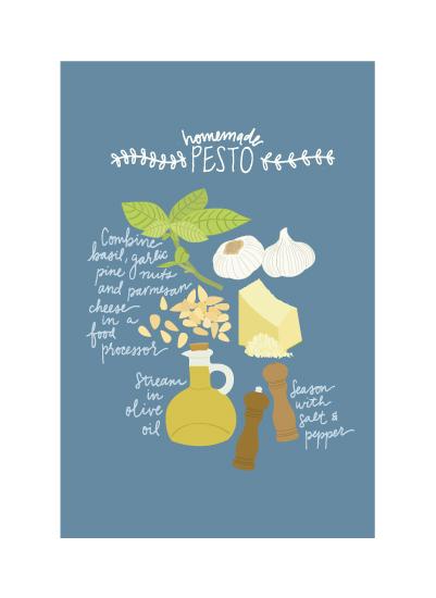 art prints - Homemade Pesto by Bright Room Studio
