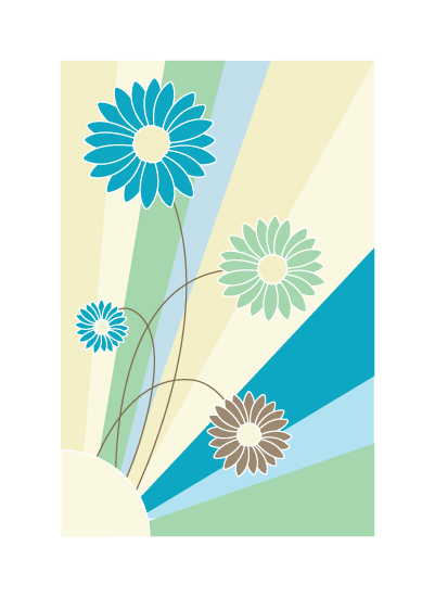 art prints - Flower Burst by Mark Wilson
