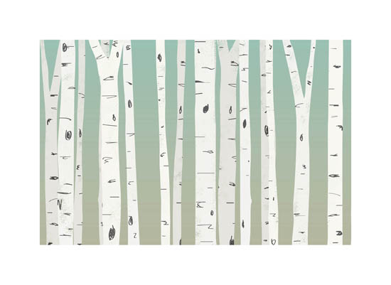 art prints - Birch Sunrise by Heather Buchma