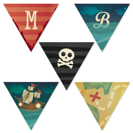 party decor - pARRRty! pirates by Lori Wemple