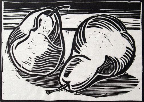 art prints - Two Pears by jack jones