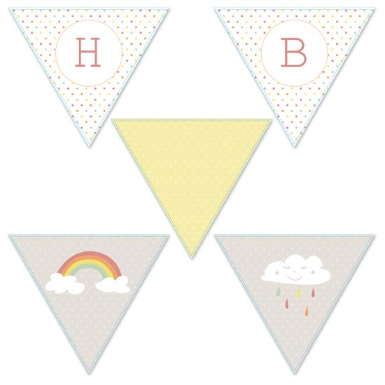 party decor - Rainbows & Sunshine by Jordan Bariesheff