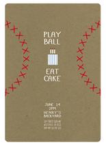 Play Ball & Eat Cake by Melissa Law