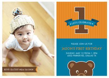 Birthday Brown Bear