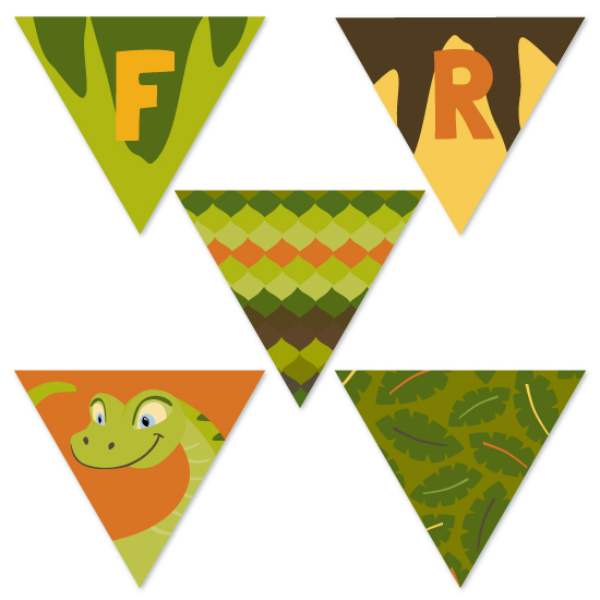 party decor - Snakes & Cake Reptile by Amy Conover