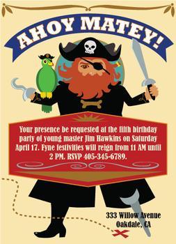 Redbeard's Invitation