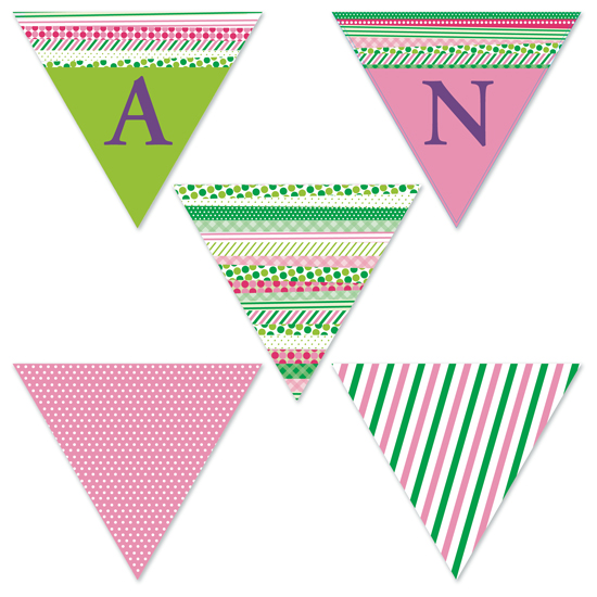 party decor - Preppy Washi by Inez D - Atelier