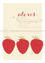 Strawberry Party by Ashlee Proffitt