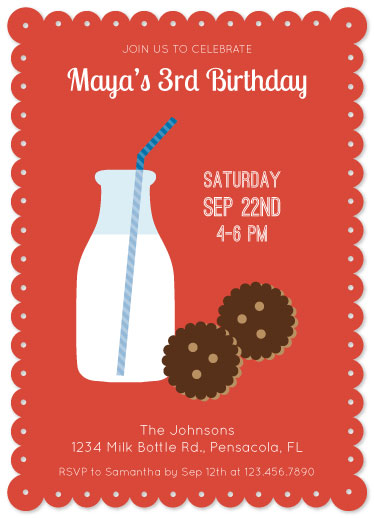 party invitations - Cookies Anyone by Marlene Leibowitz