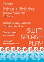 Swim Splash Play by Natalie E. Wommack