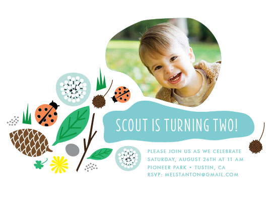 party invitations - Adventures in Nature by Frooted Design