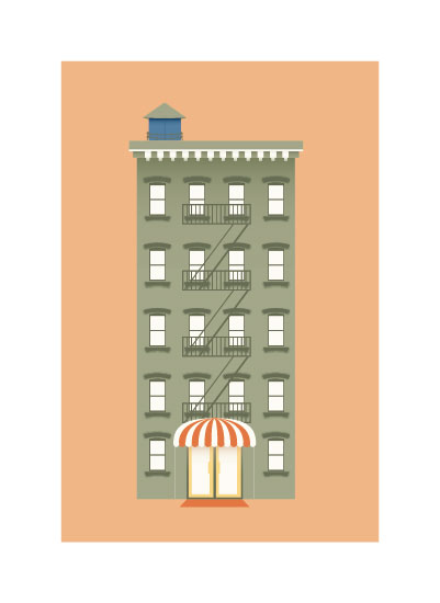 art prints - My Home In New York. by Shannon Losorelli