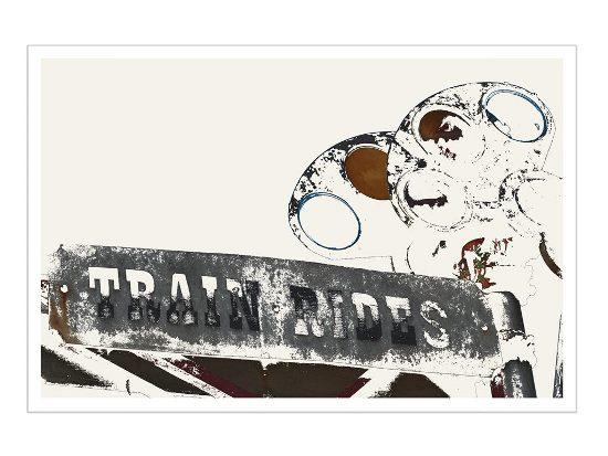 art prints - Train Rides by Hilka Zimmerman