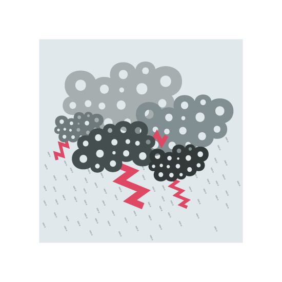 art prints - It's raining! by Cinthia Löw