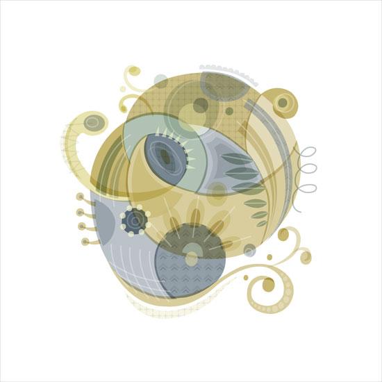 art prints - amoeba dream by Danielle Hartgers
