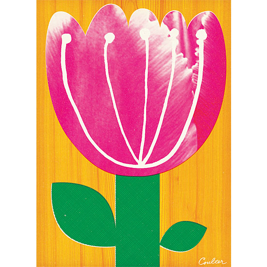 art prints - Big Mod Tulip by John Coulter