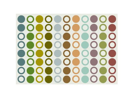 art prints - It's Raining Circles by Robin L. Andrews