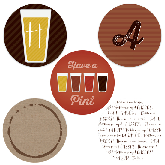 party decor - Have A Pint by Erica Krystek