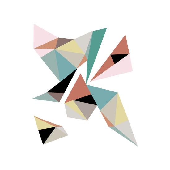 art prints - Geometric by little ginger