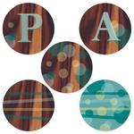 Wood Circles by Karina Padilla-Robinson