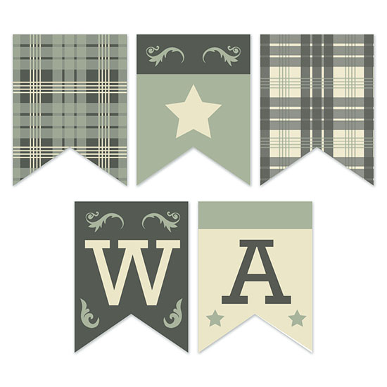 party decor - Western Cool by Emily Bouman