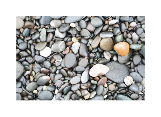 art prints - Rialto Beach Stones by Sharon Rowan