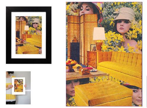 art prints - Living room 1 by Melinda Fey