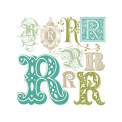 Regal Rs (Monogram Art)