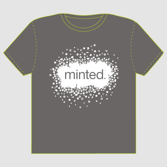 minted t-shirt design - More Than Design - 2012 by Tereza Šašinková Lukášová