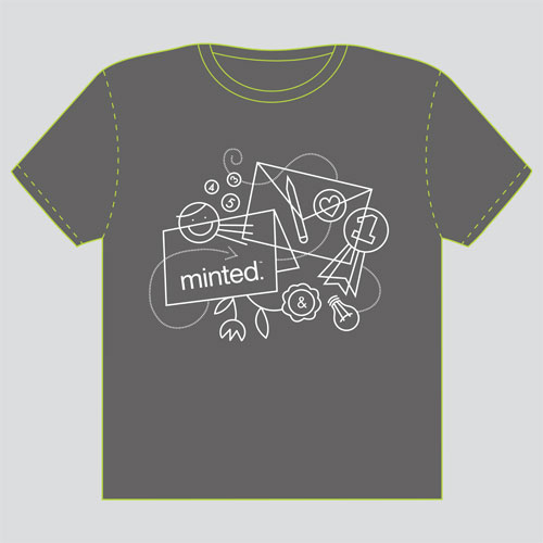 minted t-shirt design - Doodles - 2012 by Danielle Hartgers