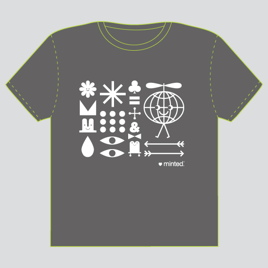 minted t-shirt design - Minted World - 2012 by ERAY