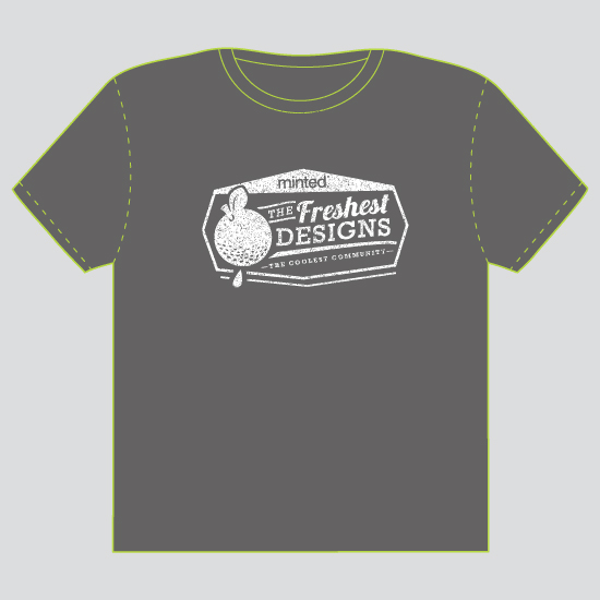 minted t-shirt design - Fresh & Cool - 2012 by Susie Allen
