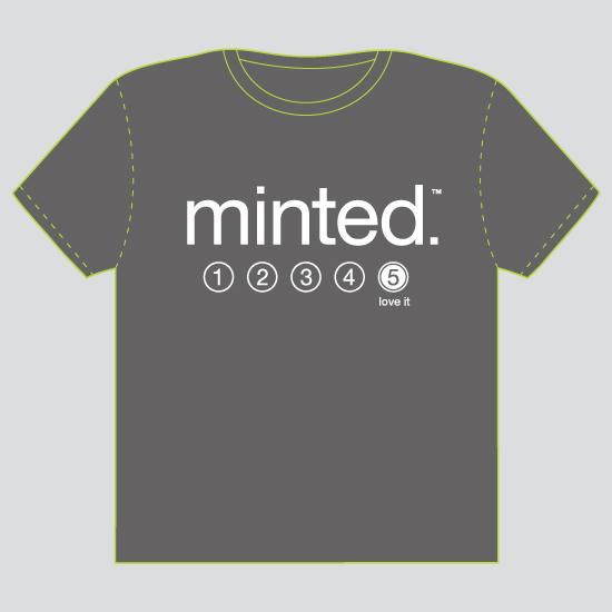 minted t-shirt design - It's a Five - 2012 by feb10 design
