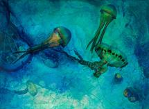 Dreaming Jellies by Renee Phillips