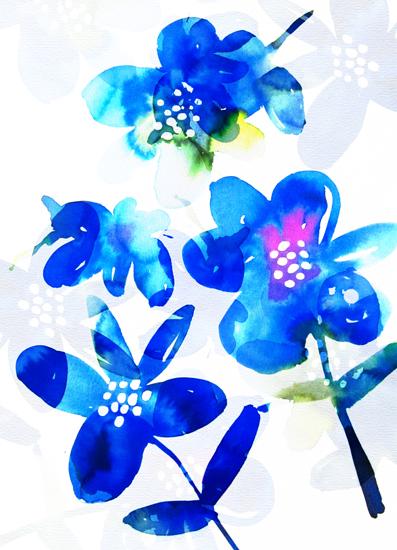 art prints - Bold Blooms by Agnes Pierscieniak