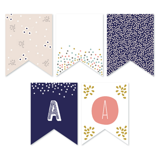 party decor - Modern Confetti Showers by Phrosne Ras
